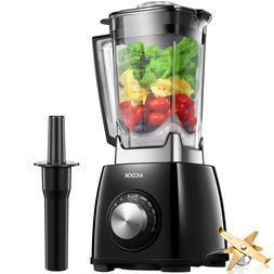 Blender 72oz 1450W Fruit Mixer Grinder Fruit Vegetable Six F