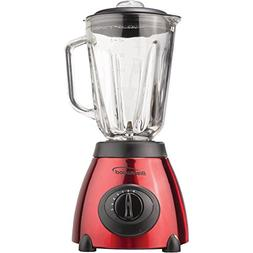 1-5-Speed Blender with Stainless Steel Base & Glass Jar , 50