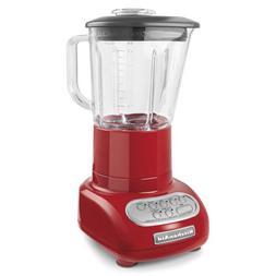 KitchenAid 5-Speed Blender with Glass Blender Jar, KSB565: R