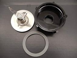 Blender Blade with Bottom Base and Sealing Rubber Gasket O R