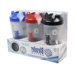 Blender Bottle with Shaker Ball 28 Oz, Pack of 3  Home Suppl