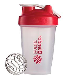 Blender Bottle Classic 20 oz. Shaker with Loop Top - Clear/R