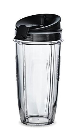 Nutri Ninja Blender 24 oz Cup and Sip N Seal Lid | Auto IQ D