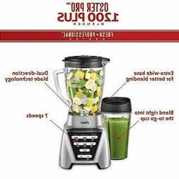 Oster Blender   Pro 1200 with Glass Jar, 24-Ounce Smoothie C