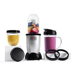 Magic Bullet Blender, Small, Silver, 11 Piece Set - Free Shi