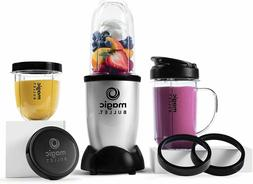 Magic Bullet Blender, Small, Silver, 11 Piece Set, FREE SHIP