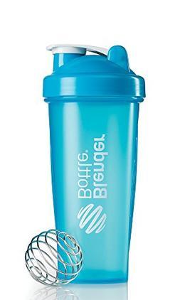 BlenderBottle Classic Shaker Bottle, Aqua/Aqua, 28-Ounce