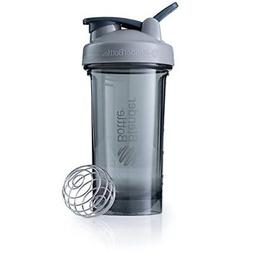 BlenderBottle Pro Series Shaker Bottle, 24-Ounce, Pebble Gre