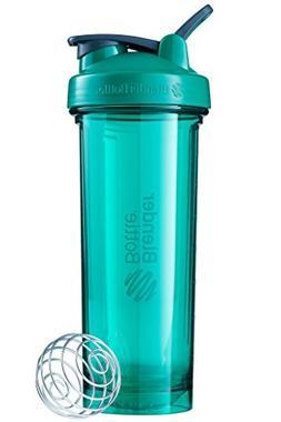 BlenderBottle Pro Series Shaker Bottle, 32-Ounce, Emerald Gr