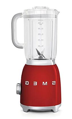 Smeg BLF01RDUS 50's Retro Style Aesthetic Blender , Red