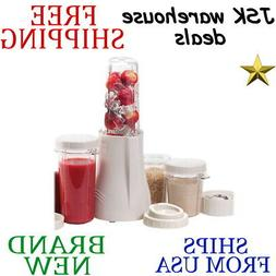 BPA Free Complete Personal Extra Large Blender with Grinder,