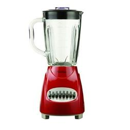 Brentwood Appliances JB920R 12 Speed Blender Glass Jar -red