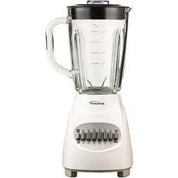NEW Brentwood JB-920W 12-Speed Blender with Glass Jar, White