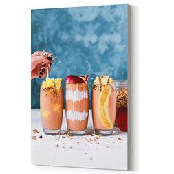 Westlake Art Canvas Print Wall Art - Smoothie Drink - Canvas