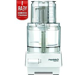 Cuisinart Pro Classic 7-Cup Food Processor White  with 1 Yea