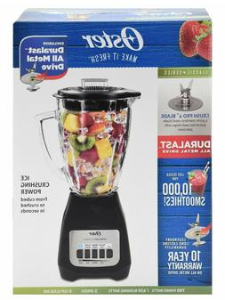 Oster Classic Series 5-Speed Blender , Black - White