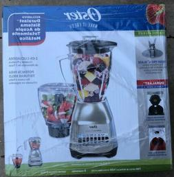 Oster Classic Series Blender Plus Food Chopper Nickel Plated