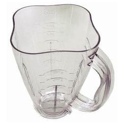 Oster 6-Cup Clover Shaped Plastic Blender Jar, Clear