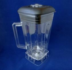 Complete 64oz Jar Set with Blade,Lid,Center Fill & Nut, Fits