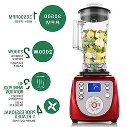 Multi-Function Countertop Blenders,1800-Watt Base and 70oz T