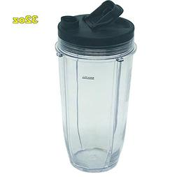 32oz Cup with spout lid Replacement Parts for Nutri Ninja Bl