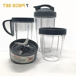 Cup and Blade Set for NutriBullet Replacement High Speed Ble