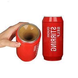 Funnytoday365 250Ml Cute Portable Self Stirring Mug Drink Co