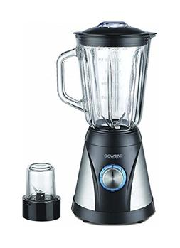 Daewoo DBL910G 600-Watt Glass Jar Blender with Grinder, 220