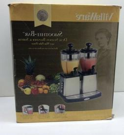 VillaWare  Double Smoothie Stainless Steel Bar Blender and S