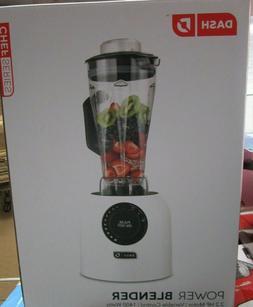 Dash DPB300WH Chef Series Power Blender, White