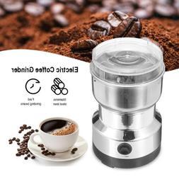 Electric Grinder Coffee Bean Spice Herbs Mill Blade Grinder