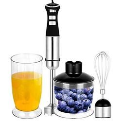 Ferty Electric Hand Immersion Blender 800W 4-in-1 5 Speed Sm