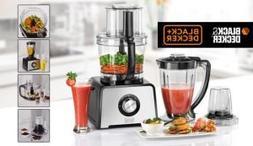 Black & Decker FX810 800-Watt Stainless Steel Food Processor