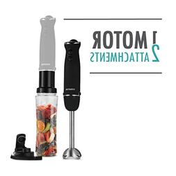 Gourmia GBJ190 Handheld & Immersion Blender - Personal Porta