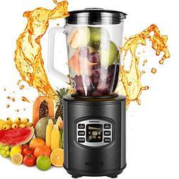 50oz 800W Glass Jar Smoothie Blender, Kitchen System 1.5L Br