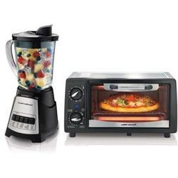 Hamilton Beach 31137 + 58148 Countertop Toaster Oven & Blend