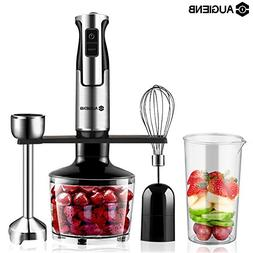 AUGIENB Hand Blender Set, HB-105SD 3-IN-1 Stainless Steel Im