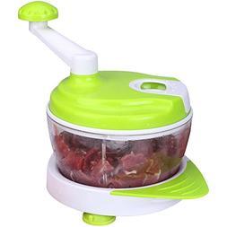 Idler Hand-Powered Food Processor, Manual Vegetable Grinder,