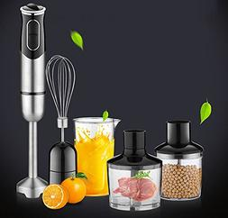 Handheld Blender 600W High Power Set Egg Whisk Electric Drin