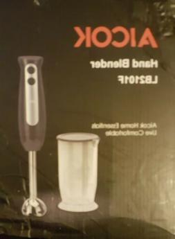 Immersion Blender, Aicok 2-in-1 Hand Blender with 700ml BPA-