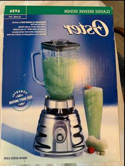 """Oster Osterizer Classic Blender """"Brand New"""" Brushed Chrome M"""