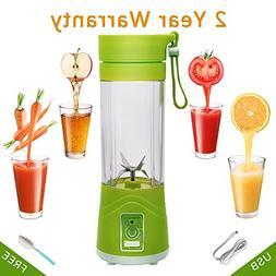 Personal Size Blenders, BORUD 380ml Juice Cup Blender Mini B