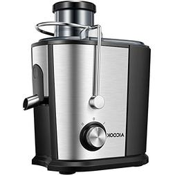 Juicer Compact Juice Extractor, Aicook Wide Mouth Juicer Mac