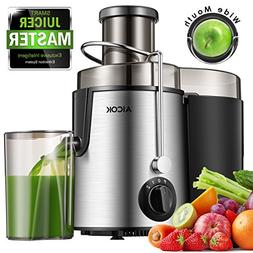 Aicok Juicer Centrifugal Juicer Wide Mouth Three Speed Juice