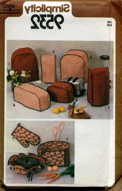 Kitchen Appliance Covers for Casserole, Blender, Coffee Make