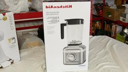 KitchenAid K400 Blender with Tamper - Silver NIB