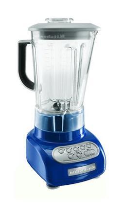 KitchenAid KSB560BW 5-Speed Blender with Polycarbonate Jar,
