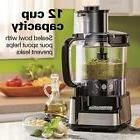 Hamilton Beach 12-Cup Stack and Snap Food Processor FAST SHI