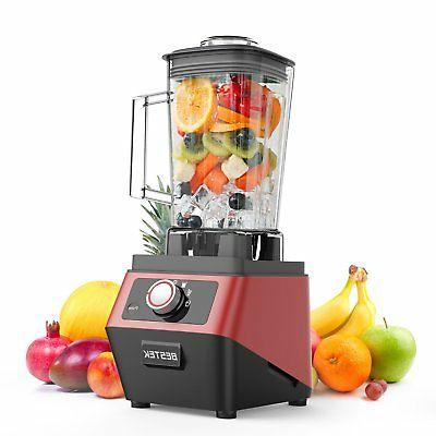 BESTEK 1400 Watts Commercial Blender with 2L BPA Free Pitche