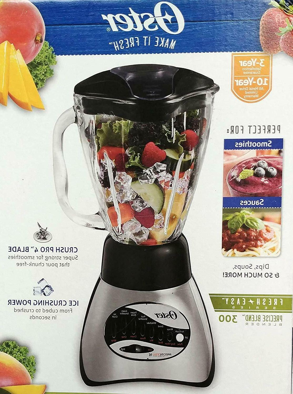16 speed blender with glass jar duralast